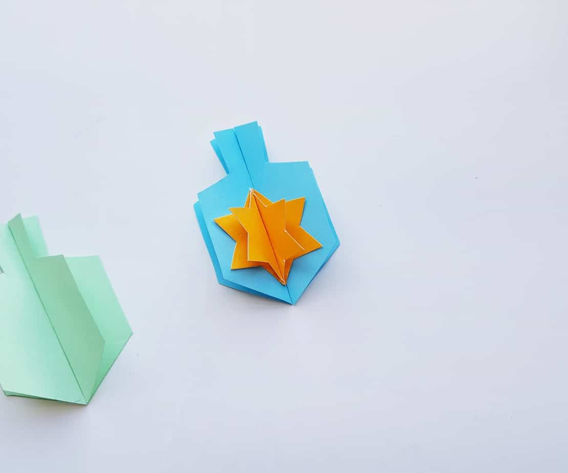 Dreidel Garland Craft